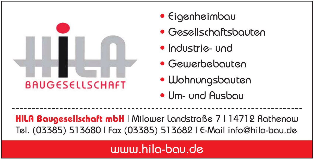 HILA Baugesellschaft mbH