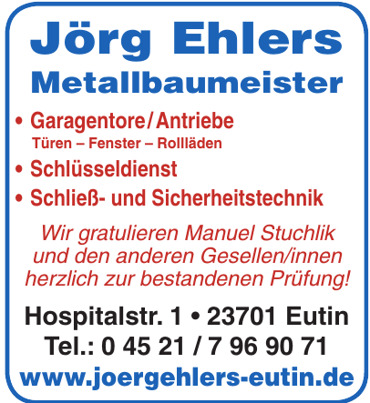 Jörg Ehlers Metallbaumeister