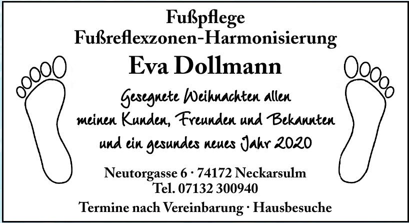 Fußpflege Fußreflexzonen-Harmonisierung Eva Dollmann