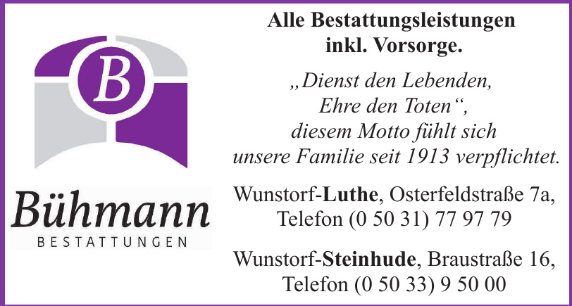 Bühmann Bestattungen