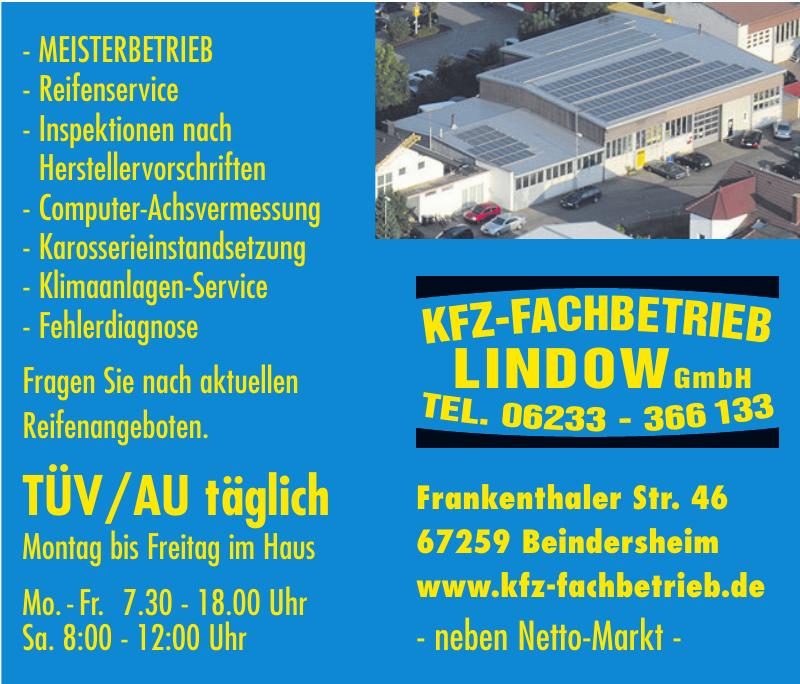 KFZ-Fachbetrieb Lindow GmbH