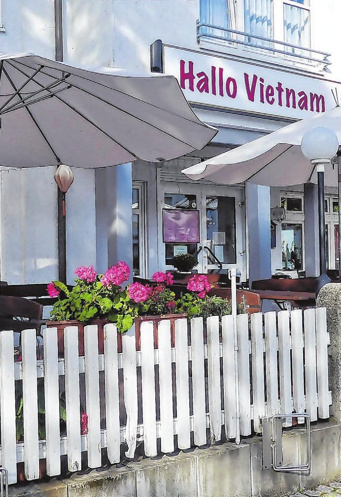 """Leckeres gibt es im vietnamesisches Restaurant """"Hallo Vietnam""""."""