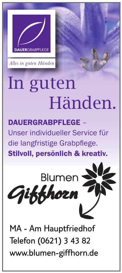Blumen Giffhorn