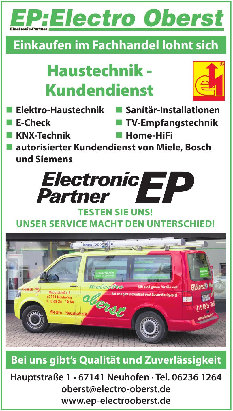 EP: Elektro Oberst