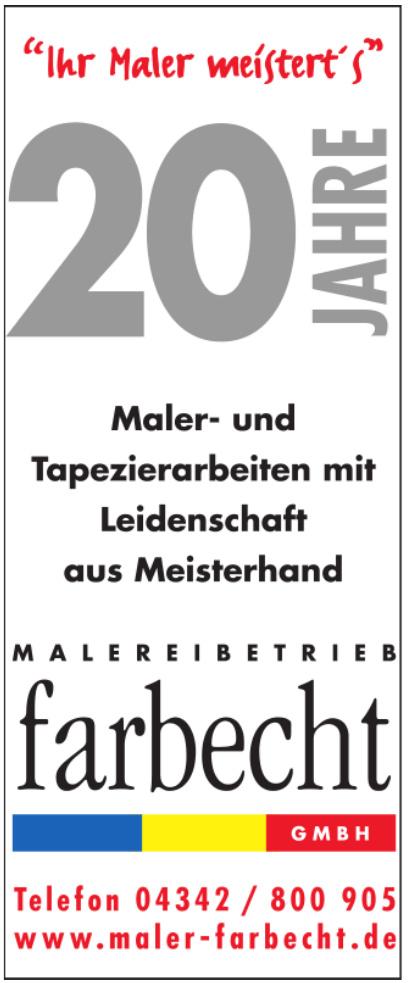 Malerbetrieb Farbecht GmbH