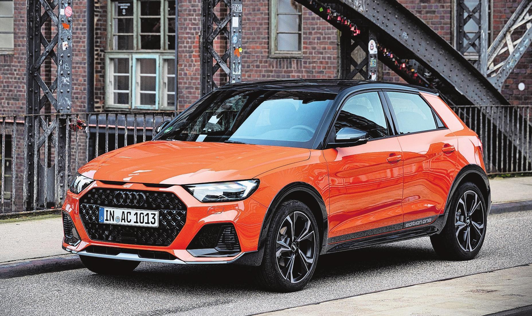 Neben Offroad-Beplankung bekommt der Audi A1 Citycarver auch eine höher gelegte Karosserie spendiert. Bilder: PD