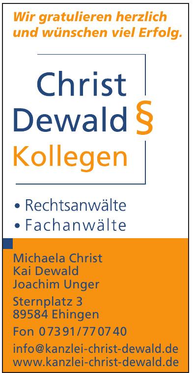 Christ Dewald Kollegen