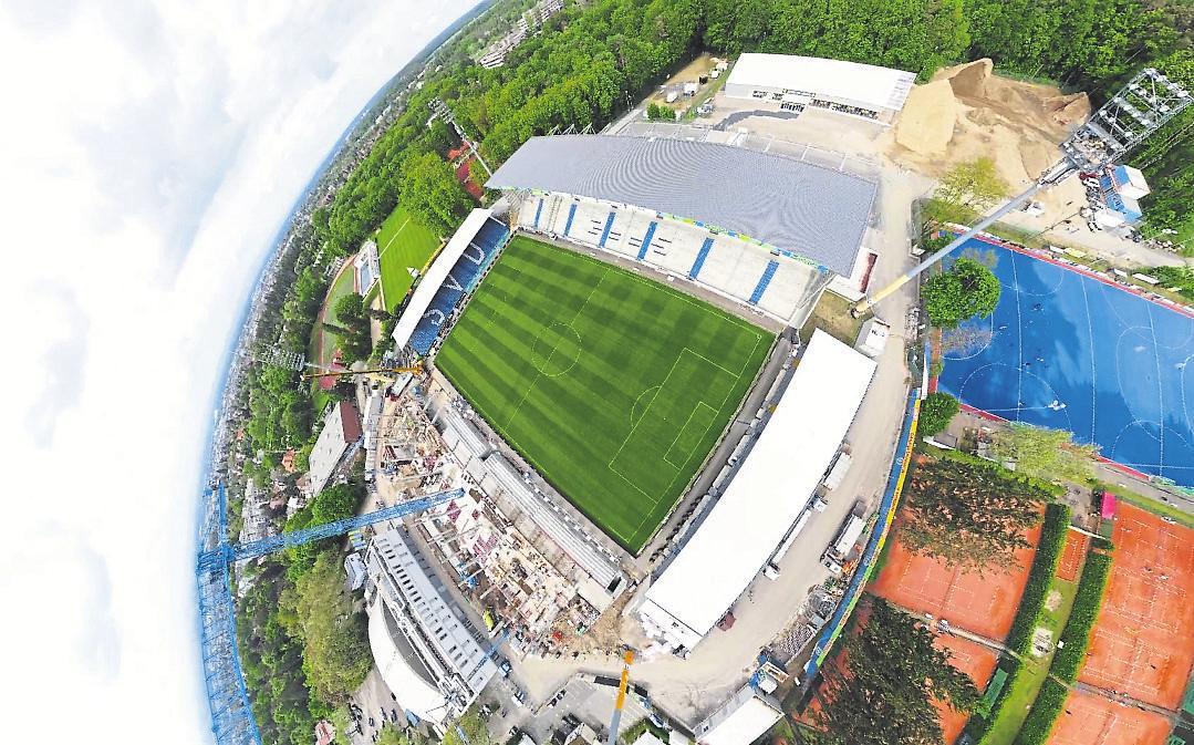 Kultstätte faszinierender Historie: Das Merck-Stadion am Böllenfalltor. Foto: SV Darmstadt 98