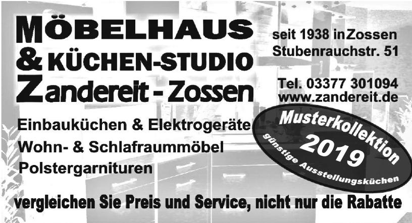 Möbelhaus & Küchen-Studio Zandereit-Zossen