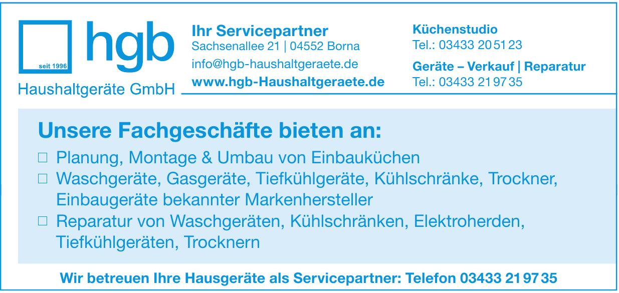hgb Haushaltsgeräte GmbH