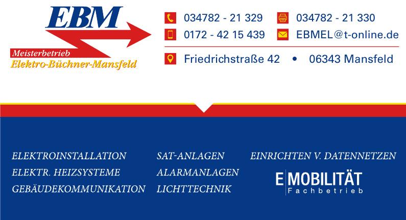 EBM Elekto-Büchner-Mansfeld
