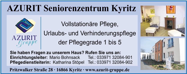 Azurit Seniorenzentrum Kyritz