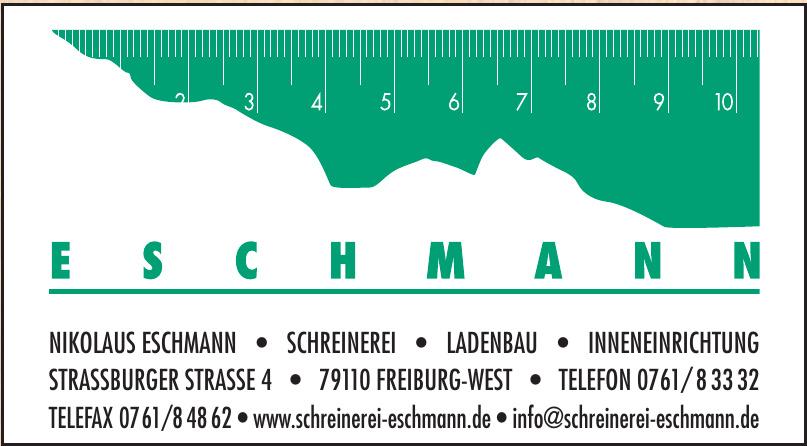 Schreinerei Eschmann