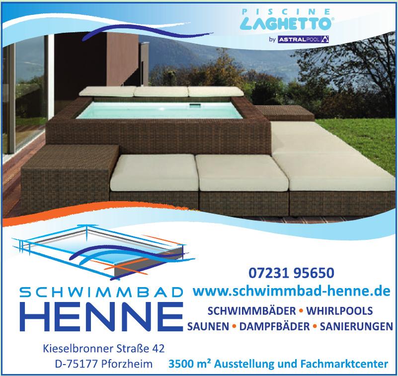 Schwimmbad Henne