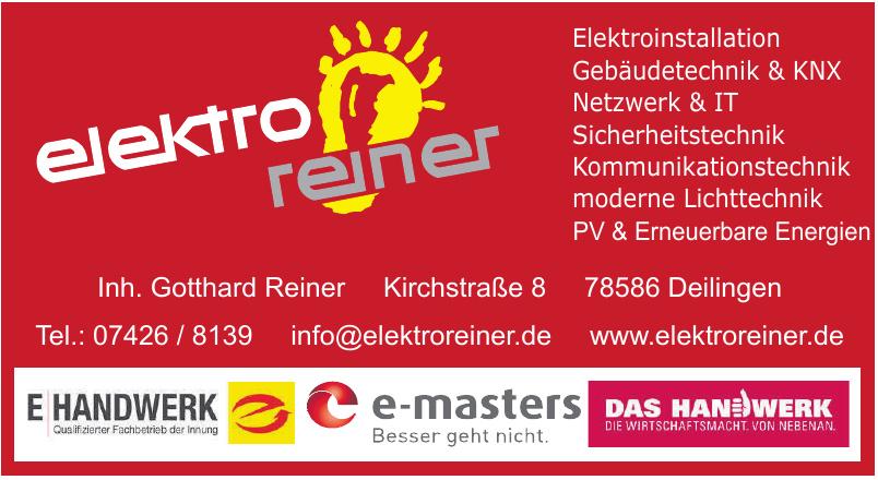 Elektro Reiner