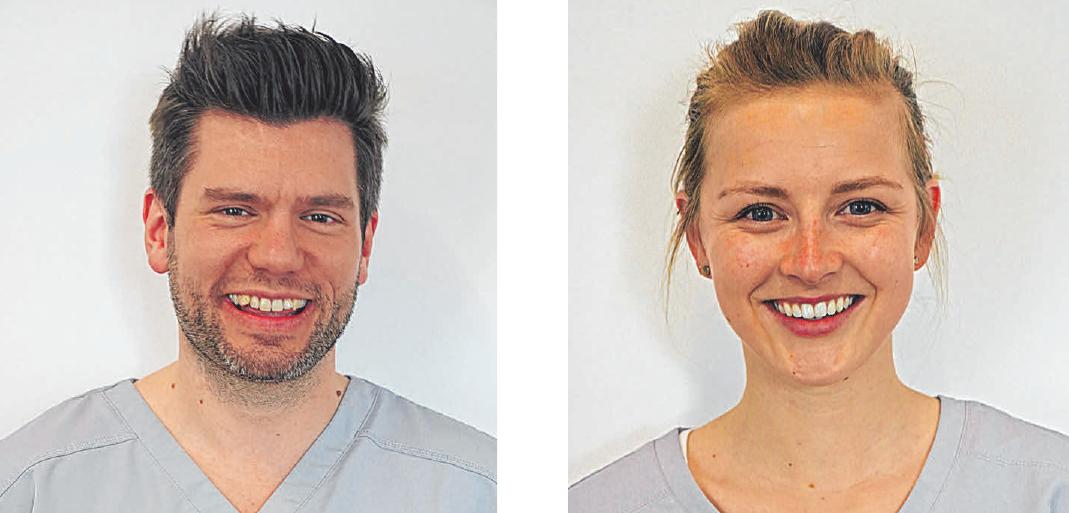 Dr. Stephan Karle und seine Kollegin Dr. Lilian Feuersinger