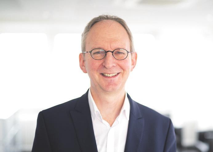 Jan Rispens, Geschäftsführer der Erneuerbare Energien Hamburg Clusteragentur GmbH (EEHH)