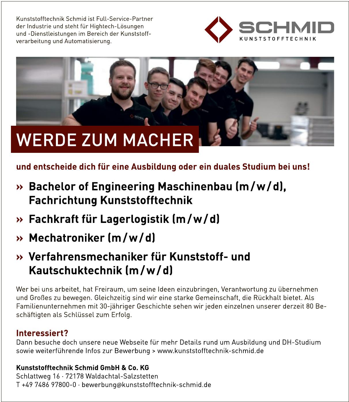 Kunststofftechnik Schmid GmbH & Co. KG