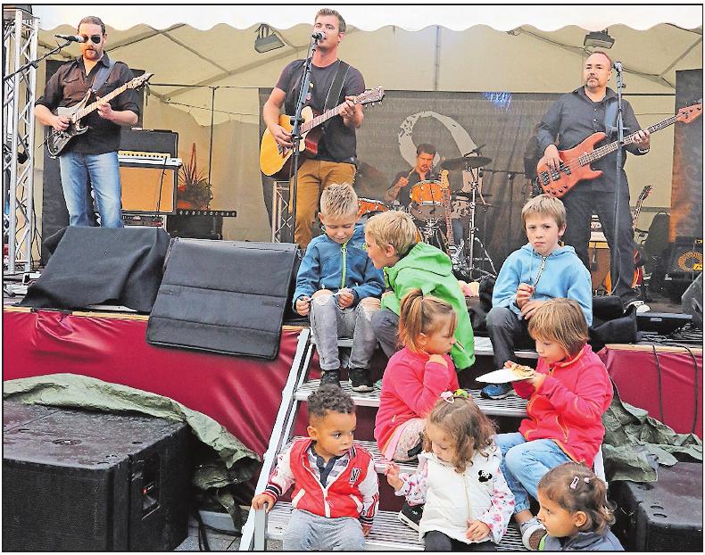 """War 2018 beim Fest dabei: die Band """"Gitarrenhelden"""". FOTO: ABF"""