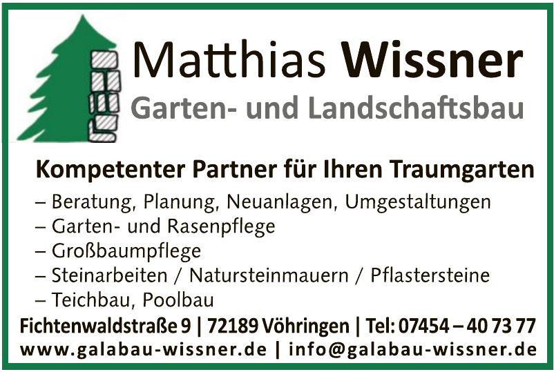 Garten- und Landschaftsbau Mathias Wissner