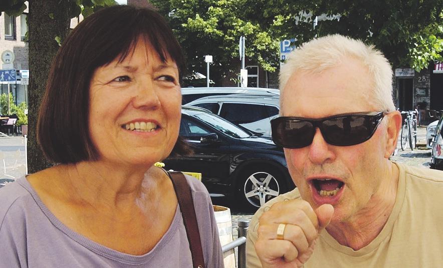 Gisela Heugel und Armin Faber leben gern in Lechenich