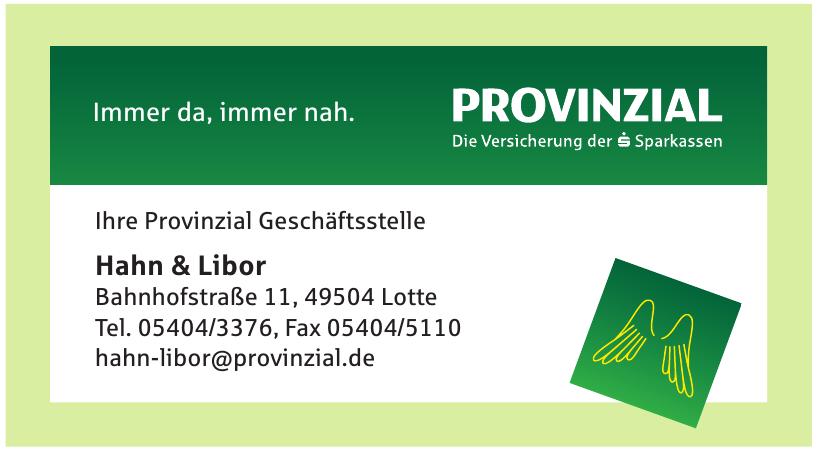 Provinzial Hahn & Libor