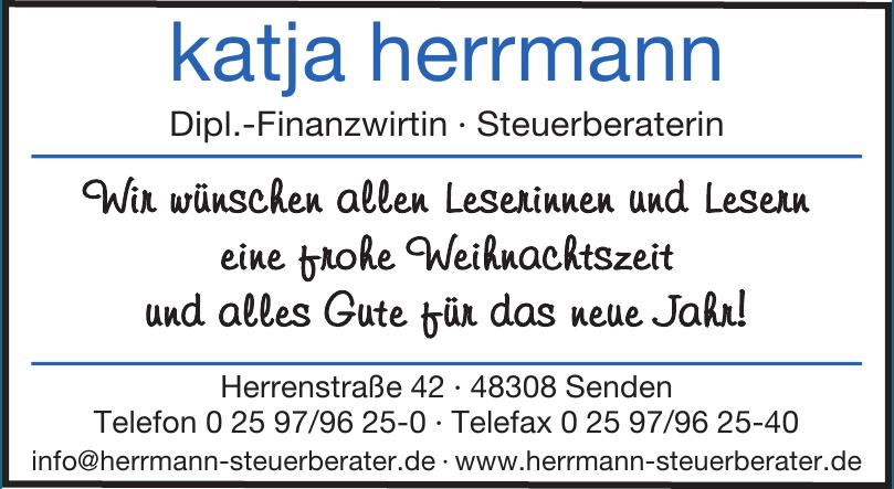 katja herrmann Dipl.-Finanzwirtin · Steuerberaterin
