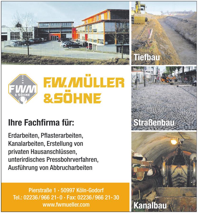 F.W. Müller & Sohne