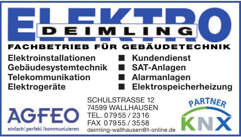 Elektro Deimling