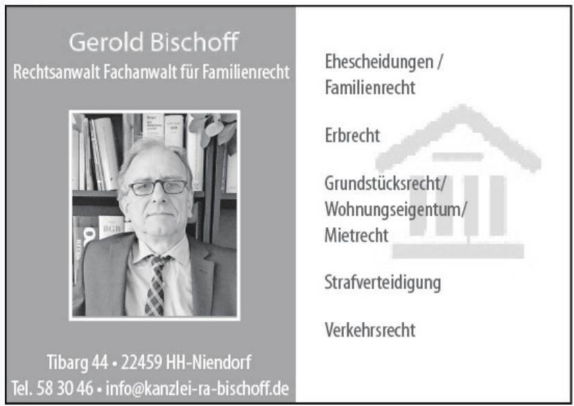 Gerold Bischoff Rechtsanwalt/Fachanwalt
