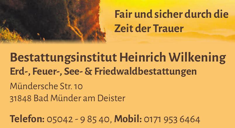 Bestattungsinstitut Heinrich Wilkening