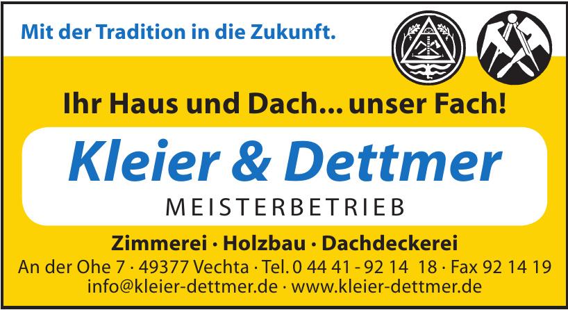 Kleier & Dettmer Meisterbetrieb