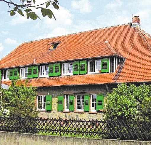 Das Stammhaus der Orbishöhe in Zwingenberg.