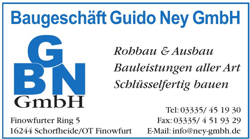 BGN Baugeschäft Guido Ney GmbH