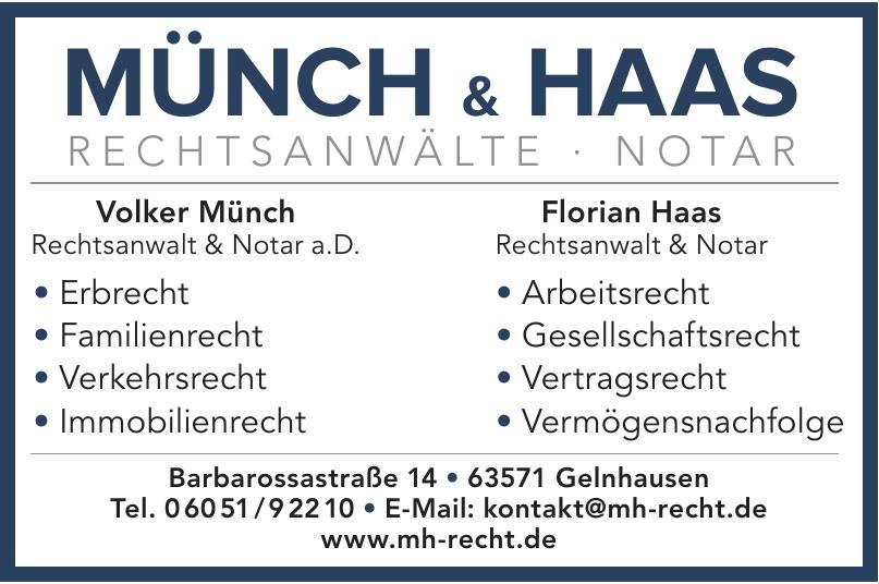 Münch & Haas