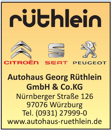 Autohaus Georg Rüthlein GmbH & Co.KG