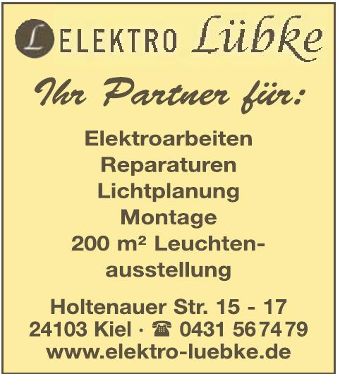 Elektro Lübke KG