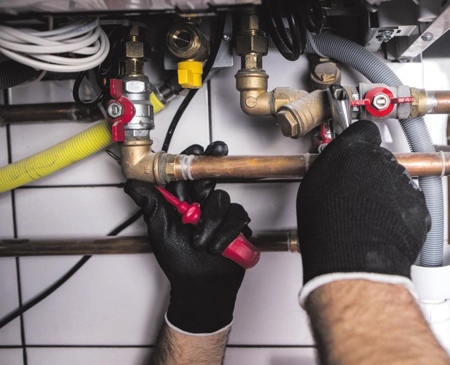 Die zugelassenen Innungsbetriebe prüfen die Gasleitungen und warten bei Bedarf. Foto: Adobe.Stock.com/wip-studio