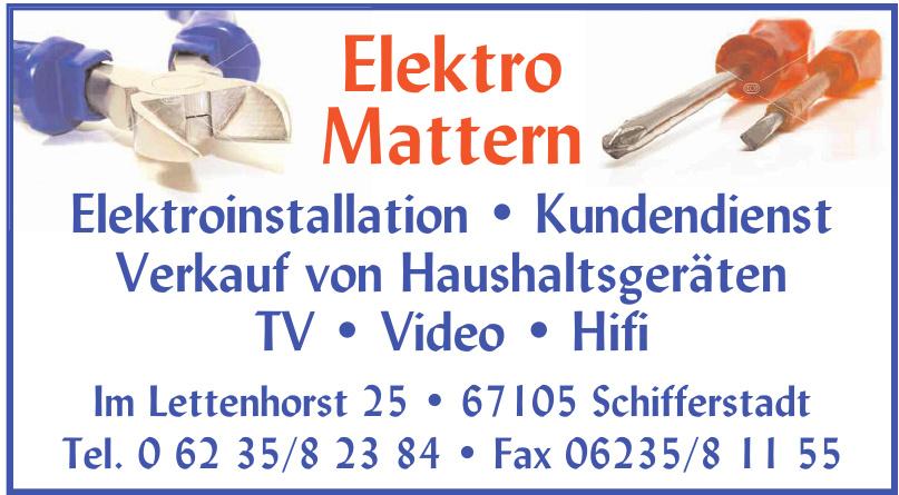 Elektro Mattern