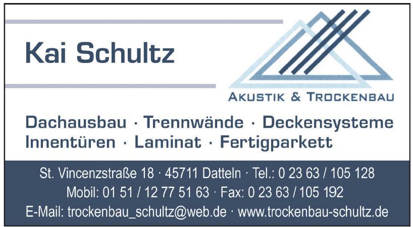 Kai Schultz Akustik & Trockenbau