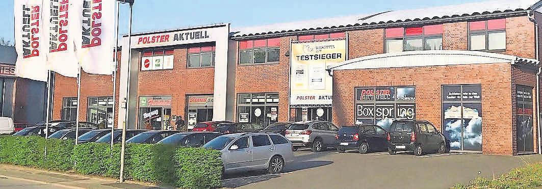 Polster-Aktuell-Verkaufshaus Hinter den Kirschkaten.