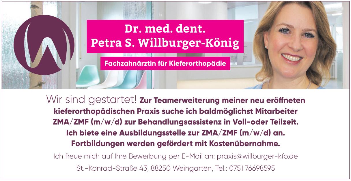 Dr. med. dent. Petra S. Willburger-König