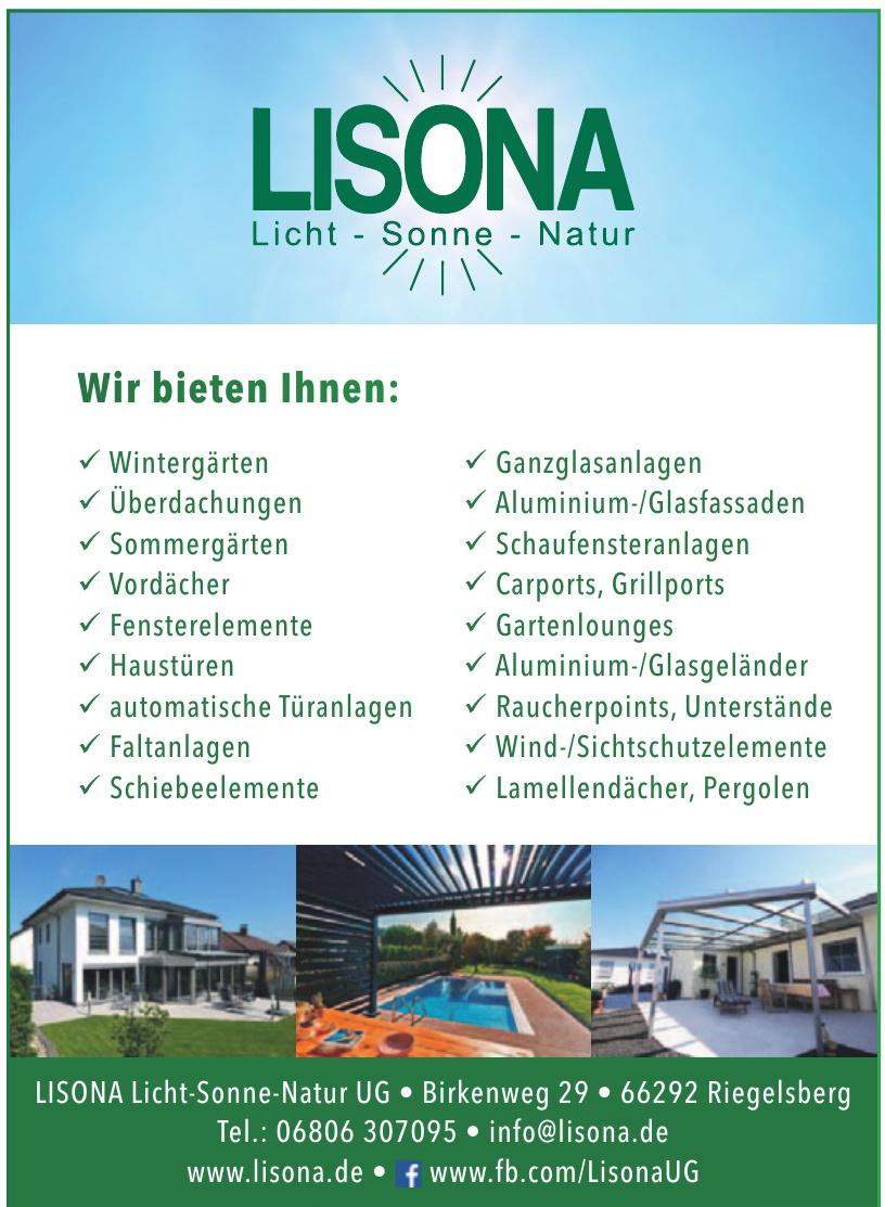 LISONA Licht-Sonne-Natur UG
