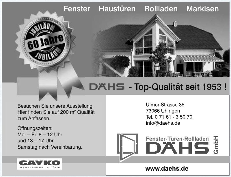 Rollladenbau DÄHS GmbH