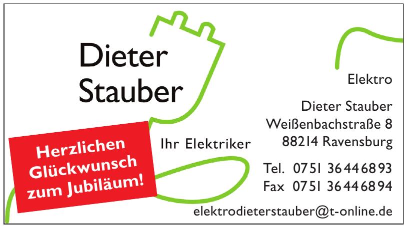 Dieter Stauber