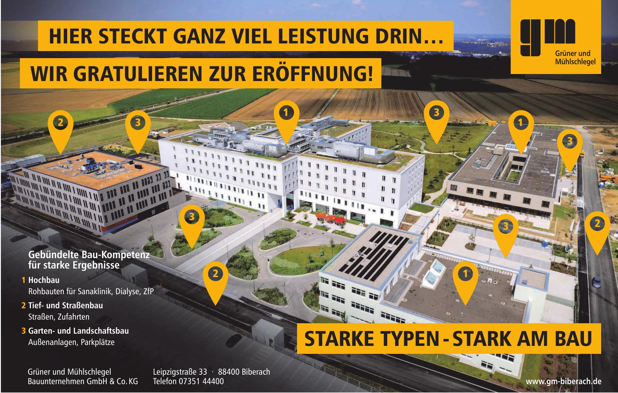 Grüner und Mühlschlegel Bauunternehmen GmbH & Co. KG