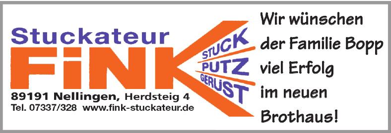 Stuckateur Fink