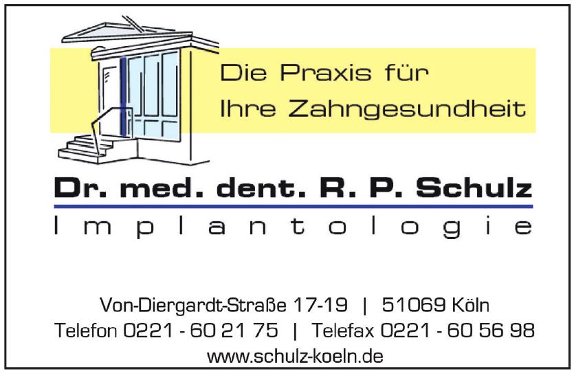 Dr. med. dent. R. P. Schulz Implantologie
