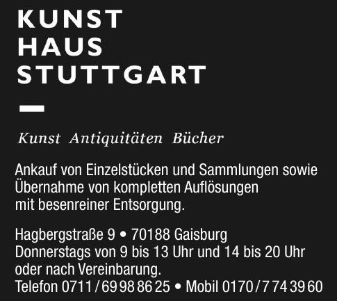 Kunst Haus Stuttgart