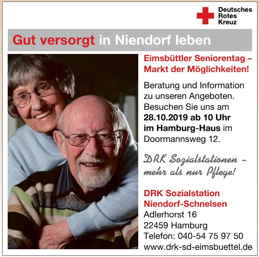 Deutsches Rotes Kreuz - DRK Sozialstation Niendorf-Schnelsen